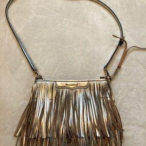 Rebecca Minkoff Metallic leather tassel bag